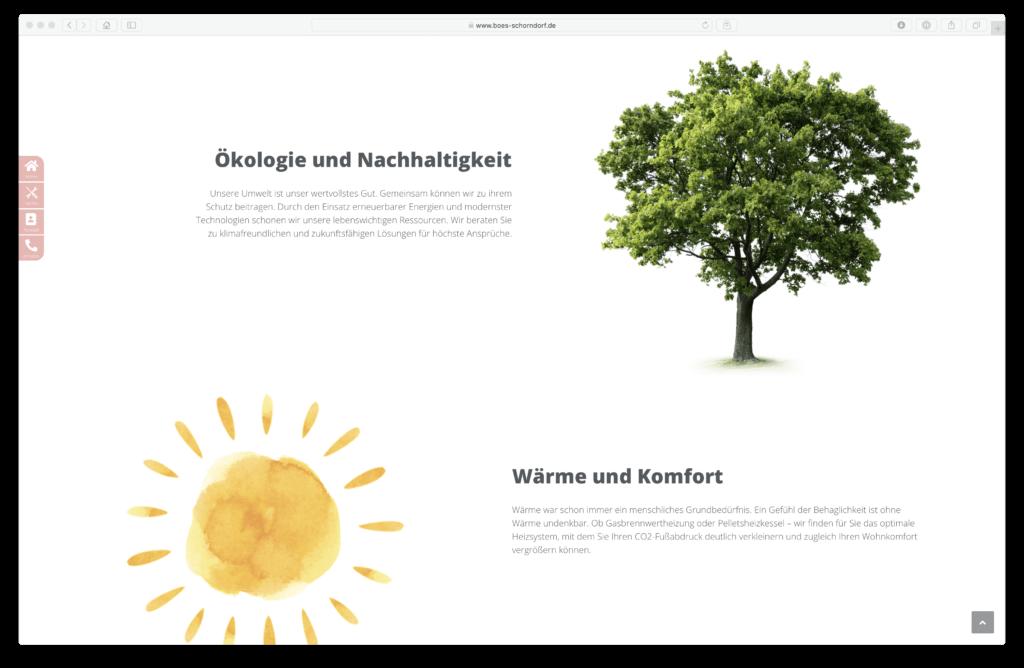 Webdesing BÖS GmbH Schorndorf in der nähe von Stuttgart